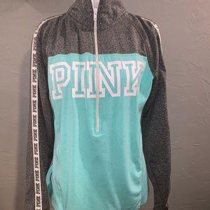 Victoria's Secret Pink Ultimate 1/2 zip